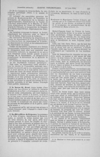 Tome 16 : Du 31 mai au 8 juillet 1790 - page 227