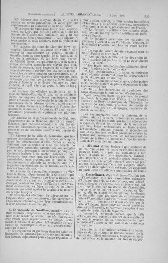 Tome 16 : Du 31 mai au 8 juillet 1790 - page 249