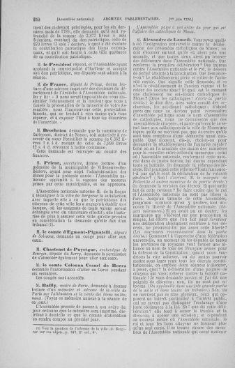 Tome 16 : Du 31 mai au 8 juillet 1790 - page 250