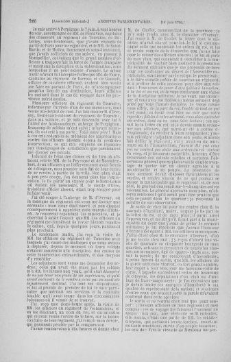 Tome 16 : Du 31 mai au 8 juillet 1790 - page 266