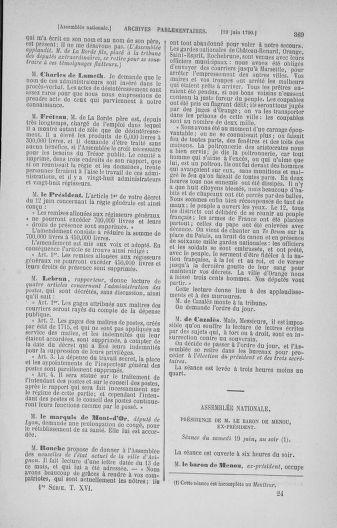 Tome 16 : Du 31 mai au 8 juillet 1790 - page 369