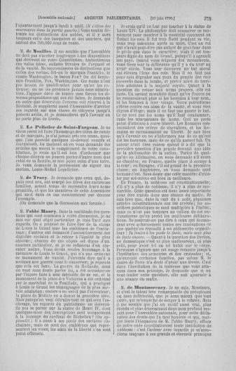 Tome 16 : Du 31 mai au 8 juillet 1790 - page 375