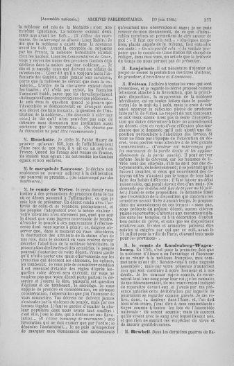 Tome 16 : Du 31 mai au 8 juillet 1790 - page 377