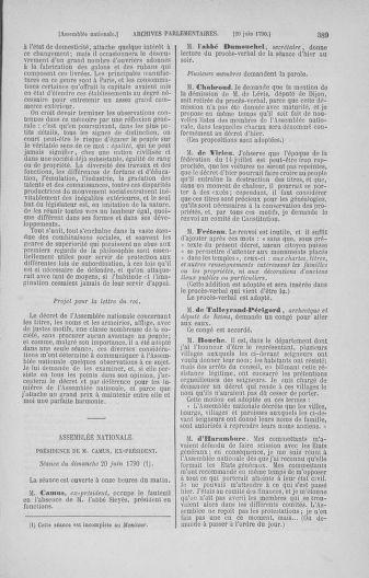 Tome 16 : Du 31 mai au 8 juillet 1790 - page 389
