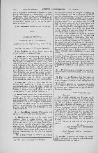 Tome 16 : Du 31 mai au 8 juillet 1790 - page 404