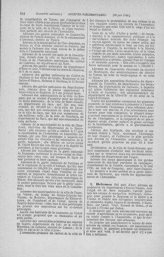 Tome 16 : Du 31 mai au 8 juillet 1790 - page 414
