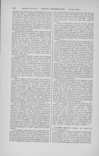 Tome 16 : Du 31 mai au 8 juillet 1790 - page 438