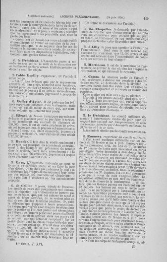 Tome 16 : Du 31 mai au 8 juillet 1790 - page 449