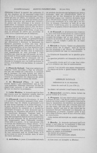 Tome 16 : Du 31 mai au 8 juillet 1790 - page 453