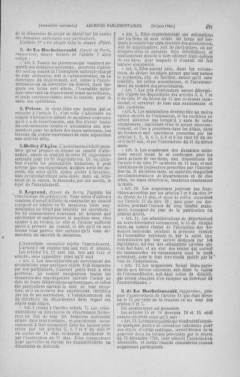 Tome 16 : Du 31 mai au 8 juillet 1790 - page 471