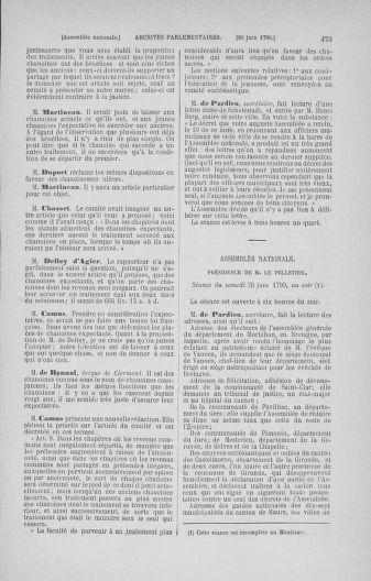 Tome 16 : Du 31 mai au 8 juillet 1790 - page 473