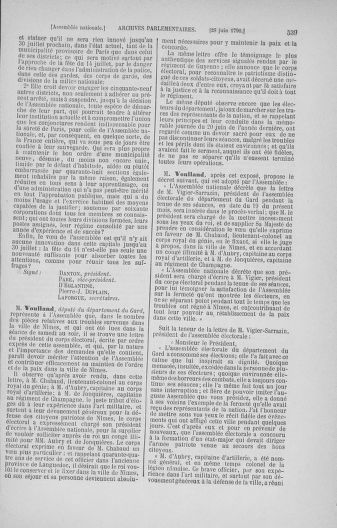 Tome 16 : Du 31 mai au 8 juillet 1790 - page 539