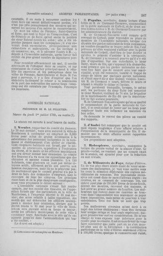 Tome 16 : Du 31 mai au 8 juillet 1790 - page 587