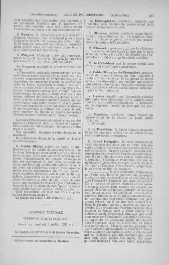 Tome 16 : Du 31 mai au 8 juillet 1790 - page 607