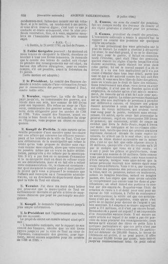 Tome 16 : Du 31 mai au 8 juillet 1790 - page 608