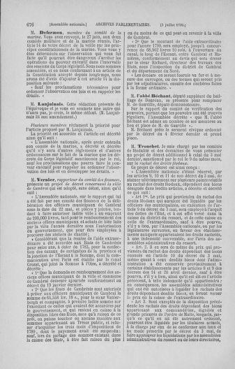 Tome 16 : Du 31 mai au 8 juillet 1790 - page 676