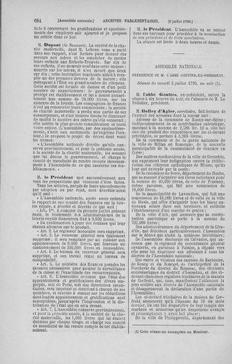 Tome 16 : Du 31 mai au 8 juillet 1790 - page 684