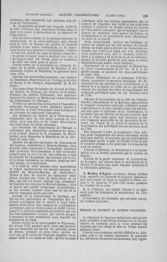Tome 16 : Du 31 mai au 8 juillet 1790 - page 685