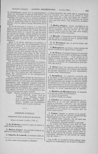 Tome 16 : Du 31 mai au 8 juillet 1790 - page 699
