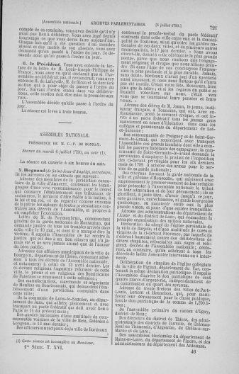 Tome 16 : Du 31 mai au 8 juillet 1790 - page 721