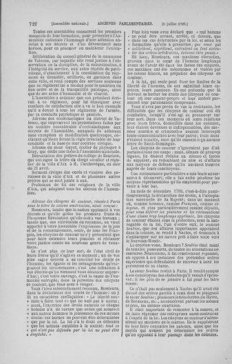 Tome 16 : Du 31 mai au 8 juillet 1790 - page 722