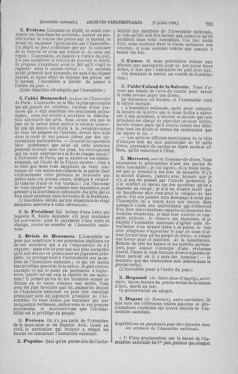 Tome 16 : Du 31 mai au 8 juillet 1790 - page 735