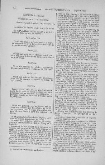 Tome 16 : Du 31 mai au 8 juillet 1790 - page 744