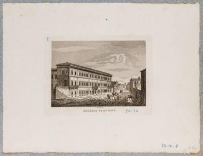 Palazzo Corsini visto di scorcio