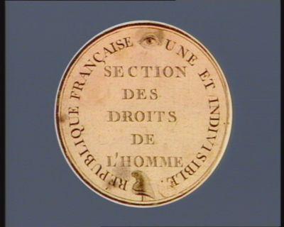 République française une et indivisible section des droits de l'homme : [estampe]