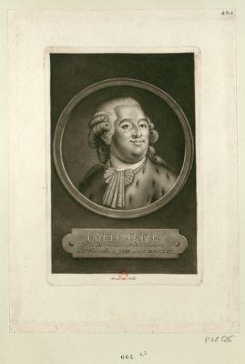 Louis seize roi de France et de Navarre né à Versailles le XXIII aoust MDCCLIV : [estampe]