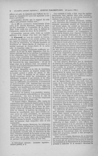 Tome 38 : Du 29 janvier au 21 février 1792 - page 2