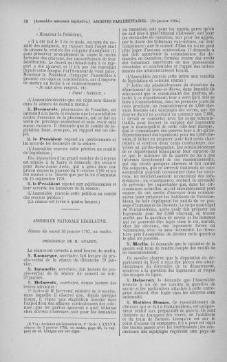 Tome 38 : Du 29 janvier au 21 février 1792 - page 10