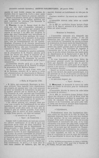 Tome 38 : Du 29 janvier au 21 février 1792 - page 11