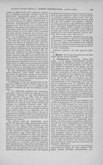 Tome 38 : Du 29 janvier au 21 février 1792 - page 153