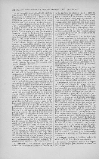 Tome 38 : Du 29 janvier au 21 février 1792 - page 194