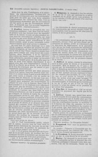Tome 38 : Du 29 janvier au 21 février 1792 - page 252