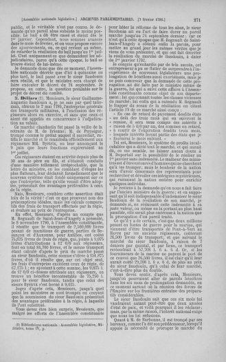 Tome 38 : Du 29 janvier au 21 février 1792 - page 271