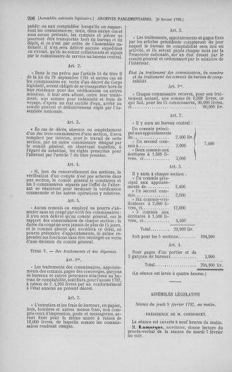 Tome 38 : Du 29 janvier au 21 février 1792 - page 296