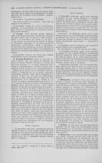 Tome 38 : Du 29 janvier au 21 février 1792 - page 346