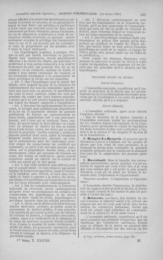 Tome 38 : Du 29 janvier au 21 février 1792 - page 353