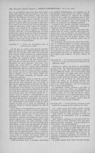 Tome 38 : Du 29 janvier au 21 février 1792 - page 378