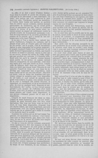 Tome 38 : Du 29 janvier au 21 février 1792 - page 382