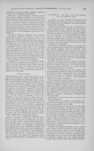 Tome 38 : Du 29 janvier au 21 février 1792 - page 383