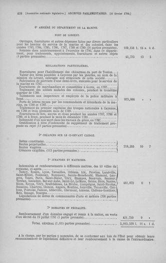 Tome 38 : Du 29 janvier au 21 février 1792 - page 408