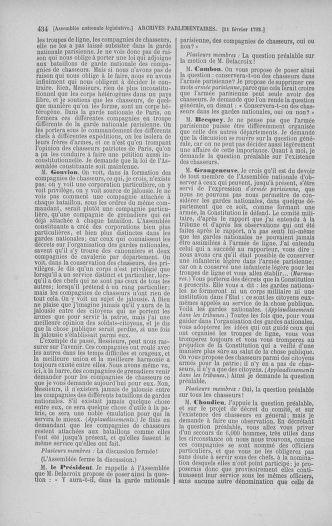 Tome 38 : Du 29 janvier au 21 février 1792 - page 434