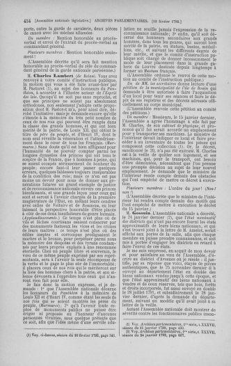 Tome 38 : Du 29 janvier au 21 février 1792 - page 454