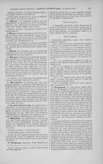 Tome 38 : Du 29 janvier au 21 février 1792 - page 473