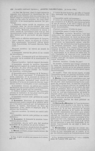 Tome 38 : Du 29 janvier au 21 février 1792 - page 486