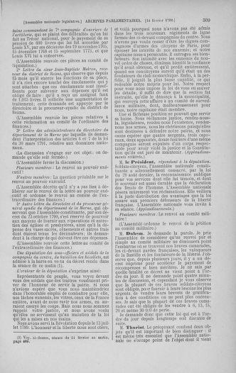 Tome 38 : Du 29 janvier au 21 février 1792 - page 509