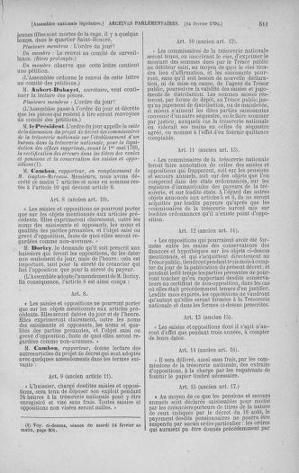 Tome 38 : Du 29 janvier au 21 février 1792 - page 511